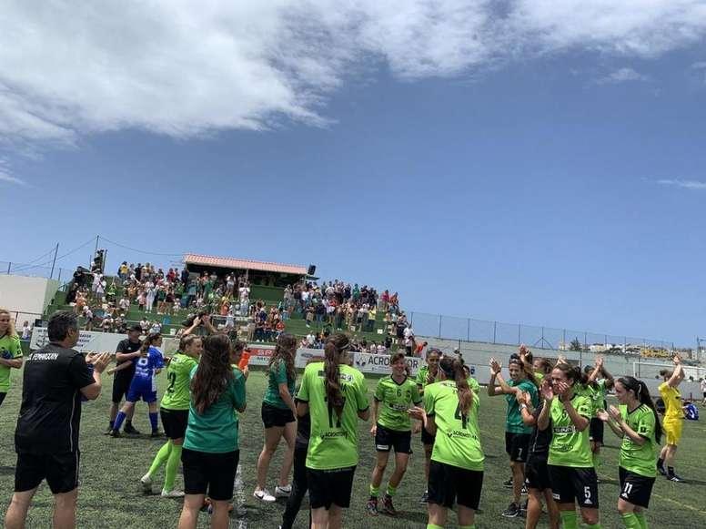 Femarguín y Tacuense jugarán el 'play off' de ascenso. CDFemarguin