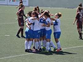 El Granadilla goleó en casa al Albacete. UDGTenerife
