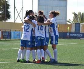El Granadilla Tenerife se impuso al Madrid CFF por 2-0. UDGTenerife