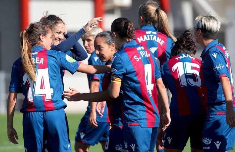 El Levante quiere dejar atrás los empates ante la Real. LevanteUDFemenino