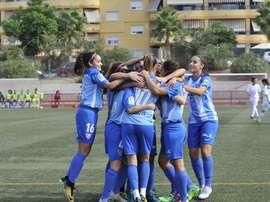 El Málaga Femenino vuelve a golear. MálagaCFFemenino
