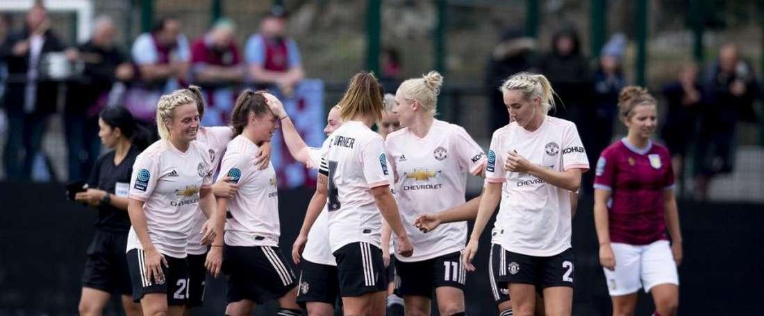El United Femenino doblegó con comodidad al West Ham. United