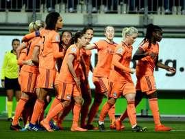 El Olympique tiene 17 ligas y seis Copas de Europa. Twitter/OLfeminin