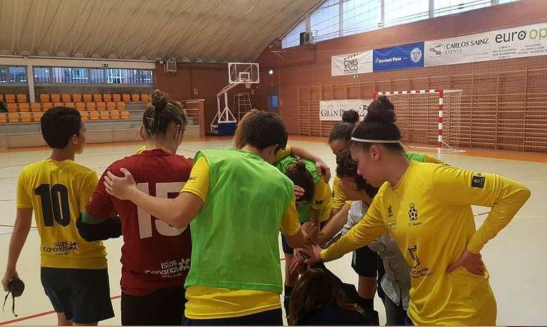 El Preconte Telde ganó 0-2. Teldeportivo