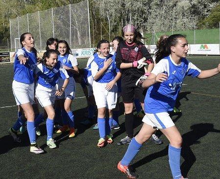 El infantil femenino del AEM Lleida gana la Liga masculina. SEAEM