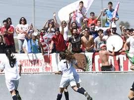 El Athletic perdió ante el Sevilla como visitante. SevillaFC