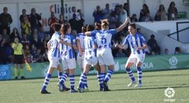 Manuela Romero opinó sobre la Huelva. LaLiga