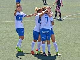El Tenerife Granadilla le dio un buen repaso al cuadro vasco. FútbolFemeninoCD