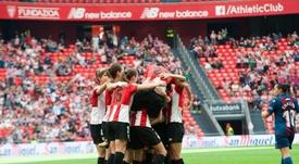 El fútbol femenino vuelve a San Mamés. Twitter/AthleticClub