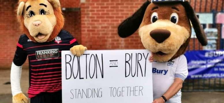El Bury ha desaparecido. Twitter/buryfcofficial