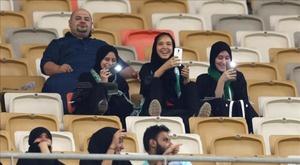 Les femmes interdites d'être présentes au stade pour voir un match. afp