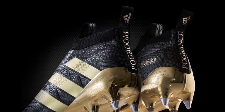 f015b6fda Adidas reveal Pogba s golden signature boots - BeSoccer