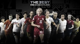 Estas son las nominadas al 'The Best' 2020 a mejor jugadora, guardameta y entrenadora. FIFA