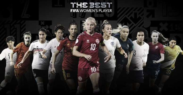 Estas son las nominadas al 'The Best' 2020 a mejor jugadora, guardameta y entrenadora. FIFA