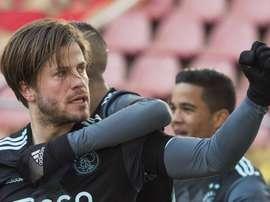 El Ajax no logró pasar del empate ante el Groningen. AFCAjax