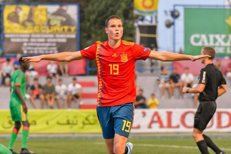 España se mete en la final del COTIF con goleada. Twitter/COTIF