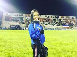 La fisio venezolana ya es toda una estrella en Guatemala. Instagram/LauraBariatti