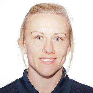 Laura Basset, internacional con la selección femenina de Inglaterra y jugadora del Notts Country.