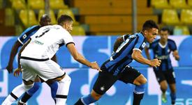 L'Inter ribalta al Tardini. Twitter/Inter
