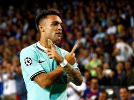 Lautaro Martinez coûtera 111 millions d'euros en juillet. EFE