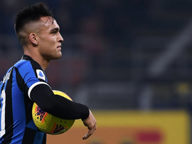 Lautaro was on Barca's wishlist. AFP