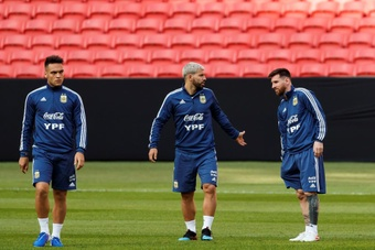 Messi is a doubt for Argentina's World Cup qualifier with Paraguay. EFE