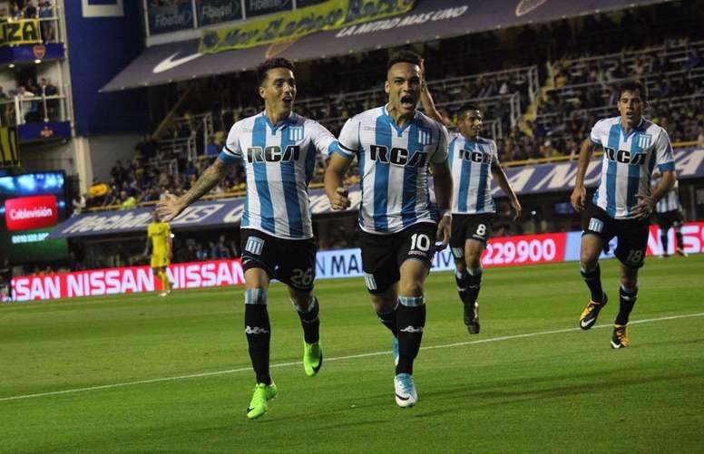 Lautaro sigue en el punto de mira del Atlético. RacingClub