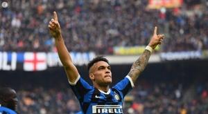 Le compte à rebours commence pour Lautaro. Twitter/Inter