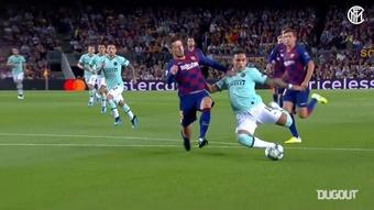 Lautaro le marcó al Madrid en Valdebebas. DUGOUT