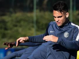 L'Inter veut retirer la clause de Lautaro Martínez. AFP