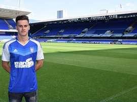 Tom Lawrence ha dejado el Leicester por el Derby County. IpswichTown
