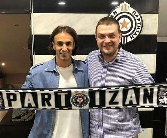 Markovic, de retour à la maison. FKPartizanBG