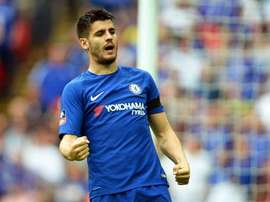 Morata lacked 'desire' at Wembley. EFE
