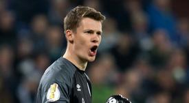 Nübel debutará este jueves antes el Düren, en Copa. AFP/Archivo