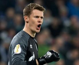 Contrato com o Bayern garante 15 partidas a Nübel. AFP