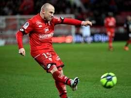 El Dijon no es un equipo que reciba goleadas continuamente. AFP