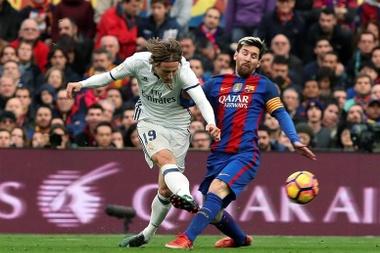 Modric elogió al azulgrana, pero dejó claro que no jugarán juntos. EFE