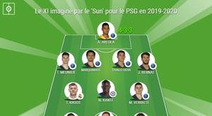 Le onze possible du PSG pour la saison prochaine par 'The Sun'. BeSoccer