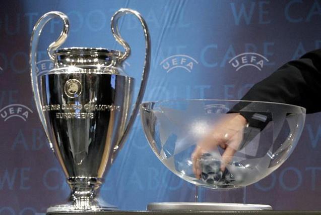The UEFA Champions League trophy. AFP