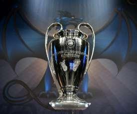 Il sorteggio dei gruppi di Champions League. AFP