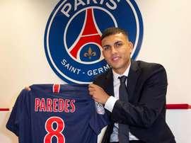 Leandro Paredes es el nuevo refuerzo del club parisino. PSG