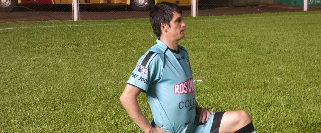 Leandro Requena, portero de Ferro Carril Oeste. Crucerodelnorte