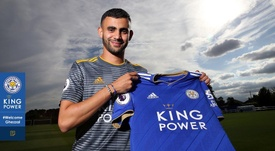 Ghezzal has signed a four-year contrasct with the club. LCFC
