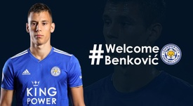 Benkovic has signed a five-year contract at the King Power. LCFC