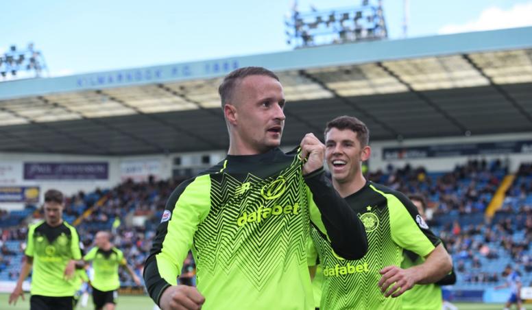 Le but de Griffiths n'a pas servi à grand chose. CelticFC