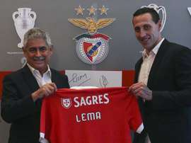 Lema signe au Benfica. Twitter/SLBenfica