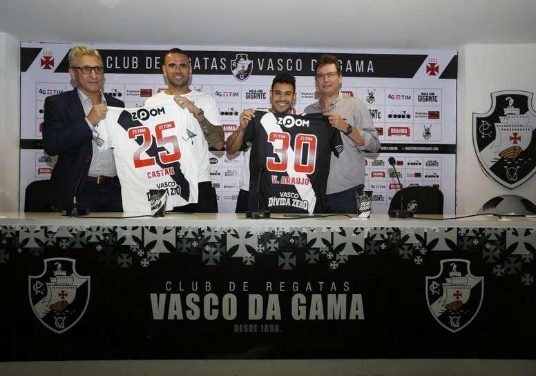 Dos nuevas incorporaciones para Vasco. Vasco