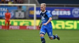 Czyborra fue presentado como nuevo jugador del Atalanta. HeraclesAlmelo