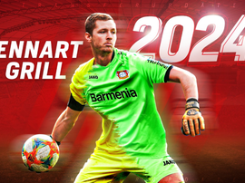 Bayer Leverkusen have signed a goalkeeper for next term. Twitter/bayer04fussball