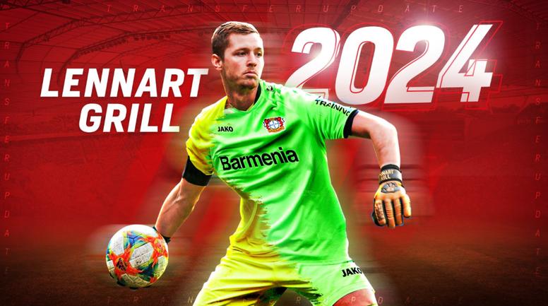 Bayer Leverkusen have signed a goalkeeper for next term. Twitter/bayer04fussball